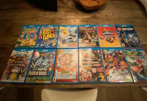 NINTENDO Wii U GAME BUNDLE! GREAT CONDITION! for Sale in Santa Monica, CA