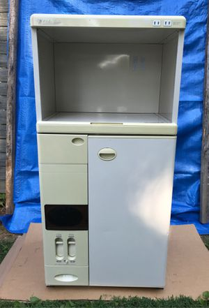 RICE STORAGE AND MICROWAVE STAND COMBO for Sale in Newport News, VA