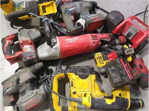 Power Tool Repair Corded and Battery Milwaukee Craftsman Makita Ryobi Rigid Fein Dewalt for Sale in Chicago, IL