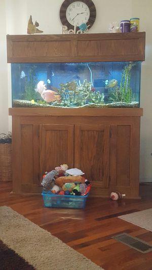 75 Gallon fish aquarium. for Sale in Polk City, FL