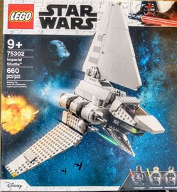 LEGO Star Wars Imperial Shuttle Building Toy 75302 LEGO St Ohar Wars Imperial Shuttle Building Toy Playset (660 ) for Sale in Renton,  WA