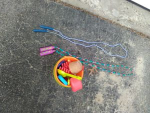 2 jump rope beach sand toys kids play plastic outdoor fun lot for Sale in Belmont, MA
