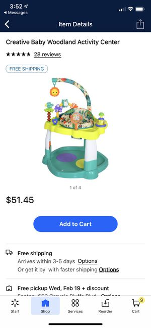 Creative Baby Activity Center for Sale in Columbia, MO