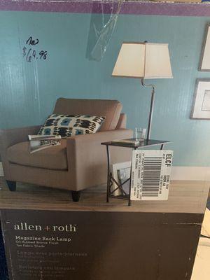 Magazine Rack Lamp for Sale in Homer, NY