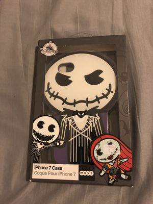 iPhone 7 phone case Disney nightmare before Christmas jack skellington for Sale in Wesley Chapel, FL