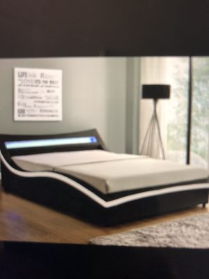 Storage queen size bed frame no mattress 449$$$ for Sale in Fort Lauderdale, FL