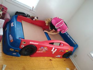 Race car twin bed for Sale in Muncie, IN