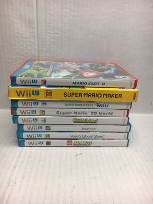 Nintendo WII U games lot for Sale in Manteca, CA