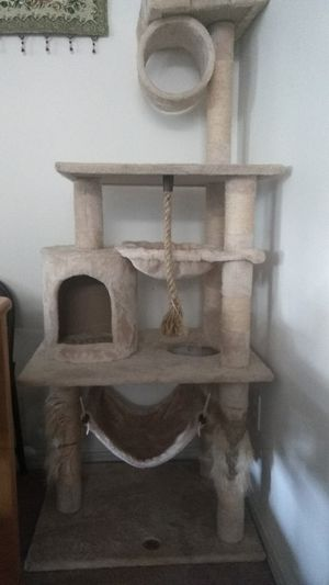 Cat Tower with scratching post, play, hide n seek for Sale in Beaverton, OR
