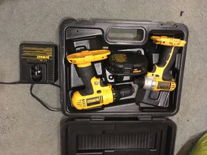 Dewalt drill and impact. Comes with battery and charger for Sale in Escondido, CA