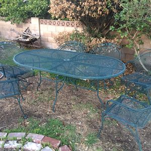 Patio Set,patio Furniture ,table And 🪑 Chairs,.....outdoor Furniture for Sale in Los Angeles, CA