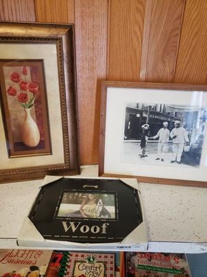 Framed pics and picture frame for Sale in Ocean Pines, MD