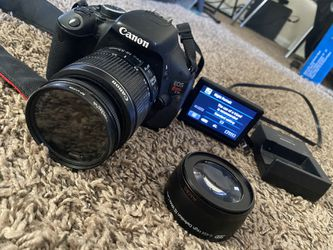 Canon Rebel t3i for Sale in Greensboro,  NC