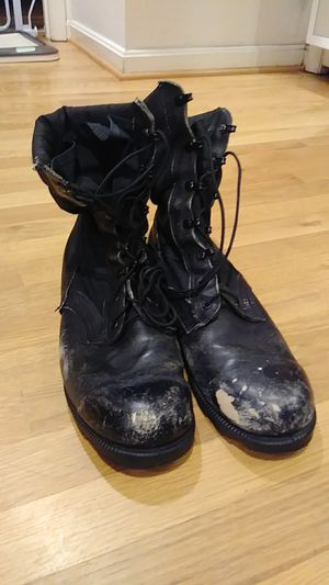 Free Combat Boots size 10.5 for Sale in Annandale, VA