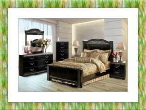 11pc Ashley bedroom set free delivery for Sale in Potomac, MD