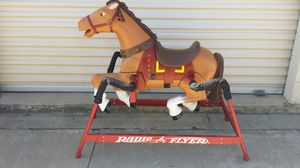 Radio flyer rocking horse. Big one $100 for Sale in Plano, TX