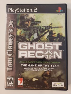 Ghost Recon for Playstation 2 (PS2) - Excellent Condition for Sale in Chula Vista, CA