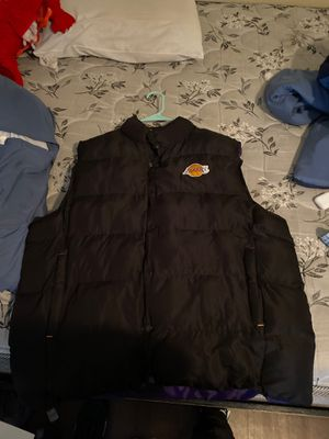 Large lakers adidas vest for Sale in Dallas, TX