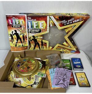 Game of Life Board Game Fame Edition Money and Asset for Sale in Aliquippa, PA