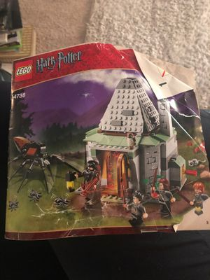 Lego Set 4738 Hagrid's Hut InstructionManual Booklet Book ONLY Harry Potter for Sale in Sloughhouse, CA