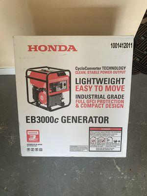 Honda EB3000c Generator for Sale in Deltona, FL
