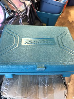Makita cordless drill with charger and 2 batteries for Sale in Monroe Township, NJ