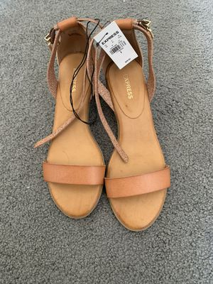 Express Distressed Wedge Heels for Sale in Bolingbrook, IL