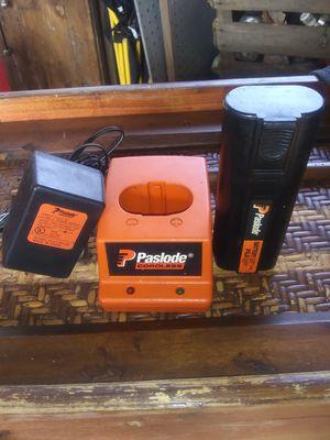 Paslode battery & charger 6 vdc for Sale in Scott Depot, WV