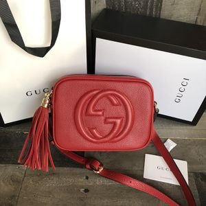 Authentic Gucci Soho Disco Bag Red for Sale in Roanoke, VA