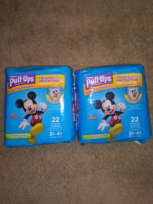 Huggies Pull-ups Size 3T-4T for Sale in Conyers, GA