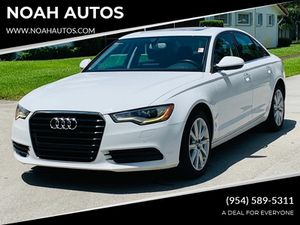 2013 Audi A6 for Sale in Hollywood, FL
