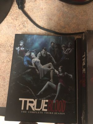 True blood season 3,4 and 5 for Sale in Oregon City, OR