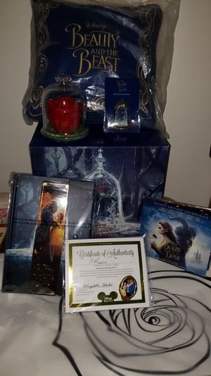8 pc Disney Beauty the Beast 200.00 firm for Sale in Lock Haven, PA
