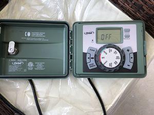 Orbit 4-Station Easy-Set Logic Indoor/Outdoor Sprinkler Timer for Sale in Redlands, CA