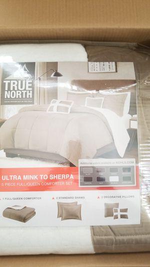 5 piece Queen/ full Bedding set combo. NEW for Sale in Etiwanda, CA