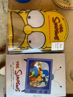 Simpsons seasons 6 & 1 for Sale in Orange, CA