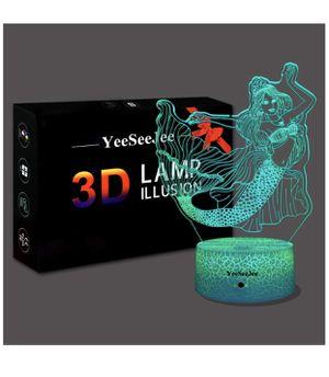 Mermaid toys 3d Night light for Sale in Summerville, SC
