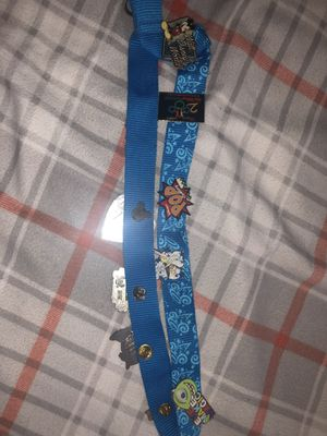 Disney World Pins along with necklace (both of them) for Sale in The Bronx, NY