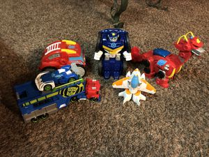 Lot transformers rescue bots for Sale in Bath, NY