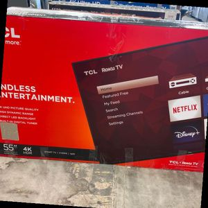 Tcl Roku 55 Inch Tv GW for Sale in Webster, TX