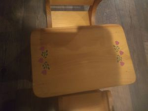 Doll chairs and table for Sale in Williamsport, PA