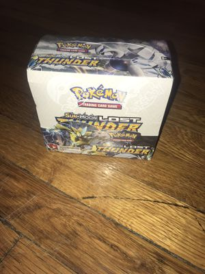 Pokemon 820650814556 TCG: Sun & Moon Lost Thunder Booster Box (Pack of 36) for Sale in Springfield, MA