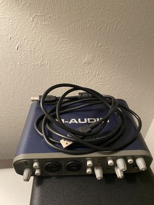 M-audio fast track pro for Sale in Arlington, TX