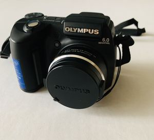 Olympus SP-500UZ- AF ZOOM 6.3-63mm- 10x Optical Zoom- Digital Camera Bundle with carry bag. Condition is Used. for Sale in Orlando, FL