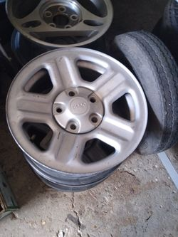 Jeep aluminum wheels 4pcs for Sale in Lake Worth,  FL