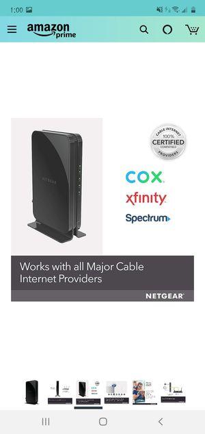 Netgear Cable Modem for Sale in Miami, FL
