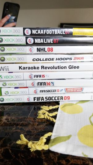 Xbox 360 games nba fifa nhl ncaa for Sale in San Francisco, CA