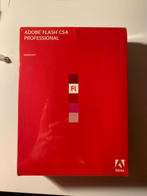 Adobe Flash CS4 for Sale in Alameda, CA