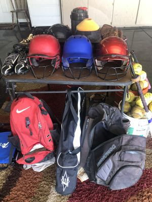 Bulk softball and slow pitch equipment for Sale in Scottsdale, AZ
