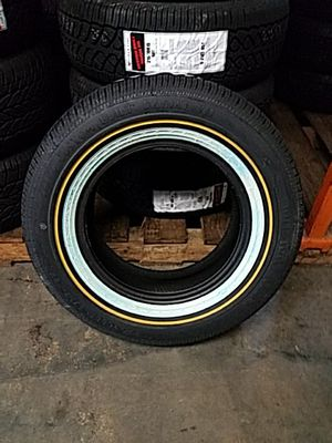 New Vogue Tires 215/70R15 White/Gold Sidewall for Sale in Atlanta, GA
